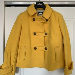 JCrew Wool Car Coat